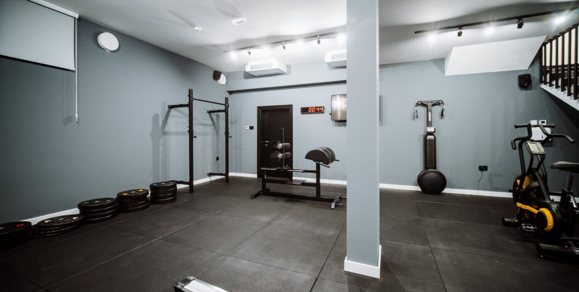 Barcode Hotel Fitness room