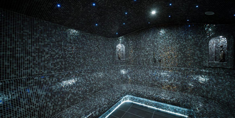 Barcode Hotel Steam Bath